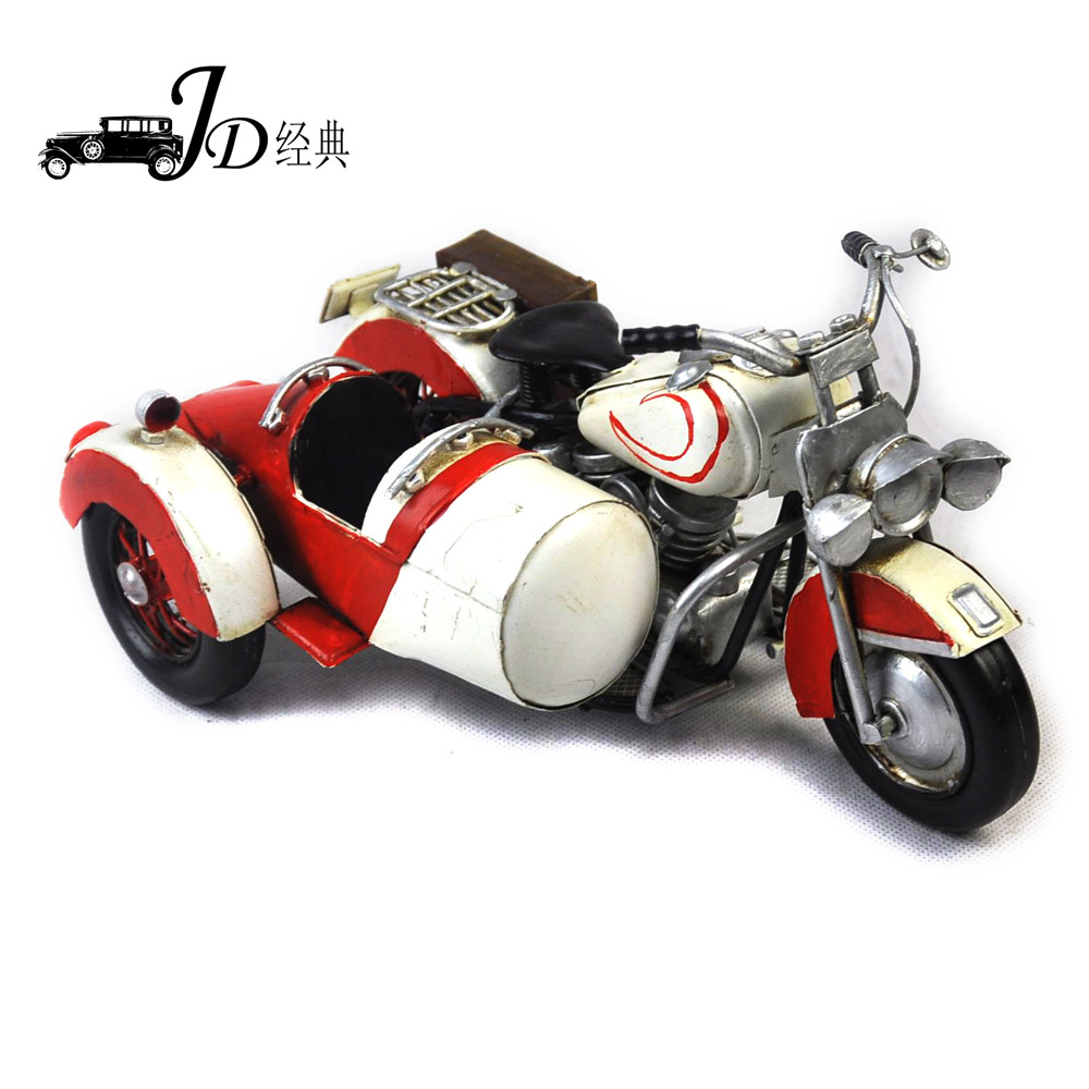 Wholesale 1:24 Scale Motor Tri-wheeler Motorcycle Art Collectible JLM403S-RW