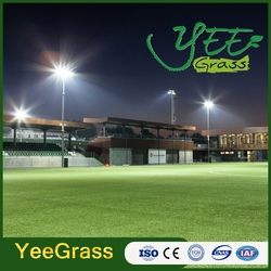 Factory hot sale soccer artificial turf ridged concave