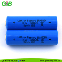 primary lithium battery ER14505 3.6V AA lithium thionyl chloride battery power type