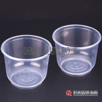 CX-7850 disposable plastic bowl for dinner