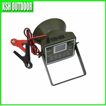 electronic 12V 60W waterproof 300 sounds hunting quail calls with timer