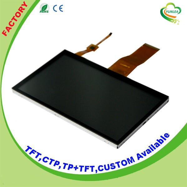 7 capacitive touch panel tft lcd 800*480 capacitive touch screen