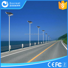 high luminous outdoor solar led lamps for street and garden lighting
