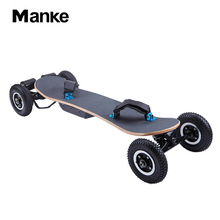 Manke powerful china off road e-skateboard 1650W motor in wheel electric skateboard 11A boosted skateboard