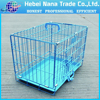 Pet dog cage with different sizes and colors