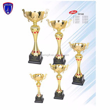 custom metal painted golden match medal and world cup trophy for sale