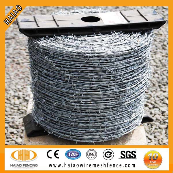 High quality barbed wire weight per roll and barbed wire weight per meter