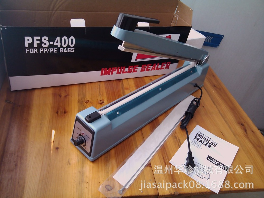 Manufacturers supply SF400A aluminum Hand Sealer hand impulse sealer / sealer small home
