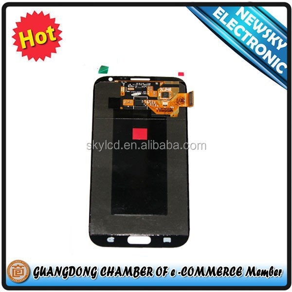 Wholesale for samsung galaxy note 2 n7105 lcd with digitizer replacement