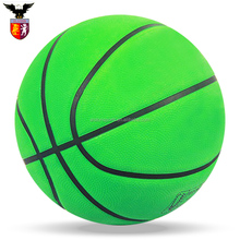size 7 standard rubber basketball for kids