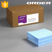 Antibacterial 35gsm Meshed Dryed Water Absorbent