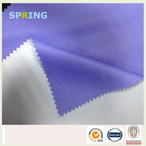 polyester fabric tpu film laminated lenzing fabric waterproof