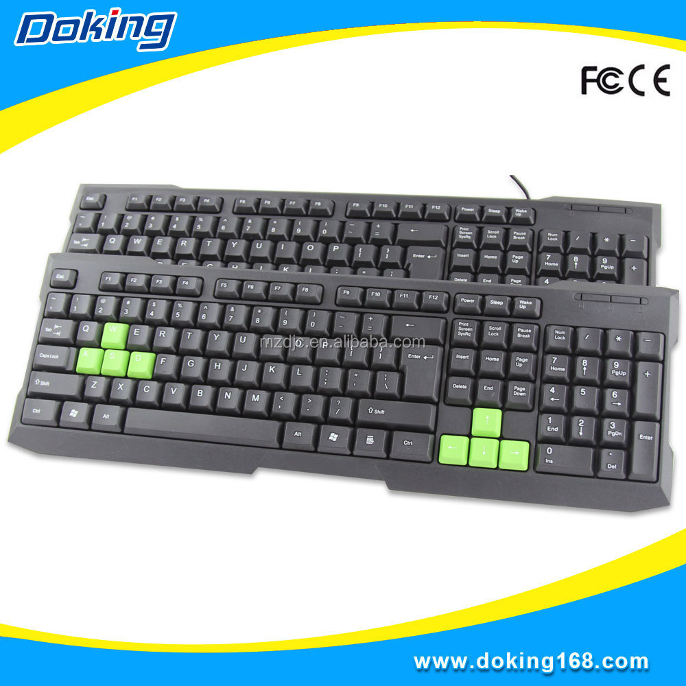 Wholesale desktop Wired gaming laptop keyboard
