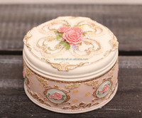 Wedding item colorful resin Jewelry box hot new products for 2015 wedding souvenirs