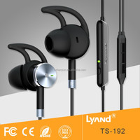 Comfortable wearing two way radio air tube earphone for music