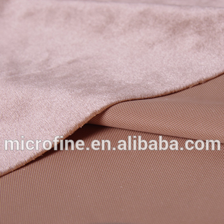 <strong>polyester</strong> super soft long peel velour tricot knitting fabric for home textile