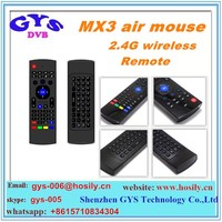 Multifunction MX3 MXIII 2.4G Air Mouse Wireless Android Remote Control