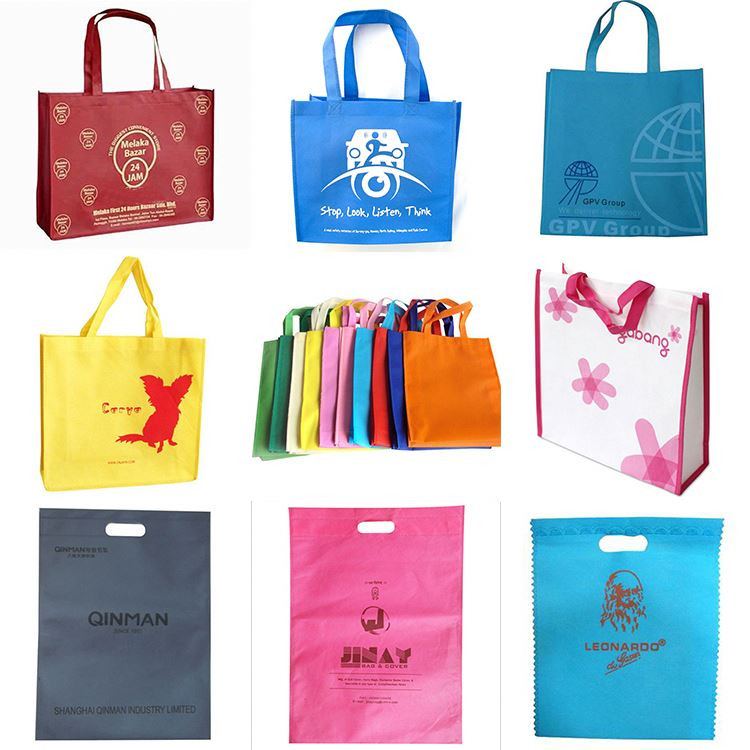 Cosmetic Non Woven Bag Durable Pp Non Woven Shopping Bag