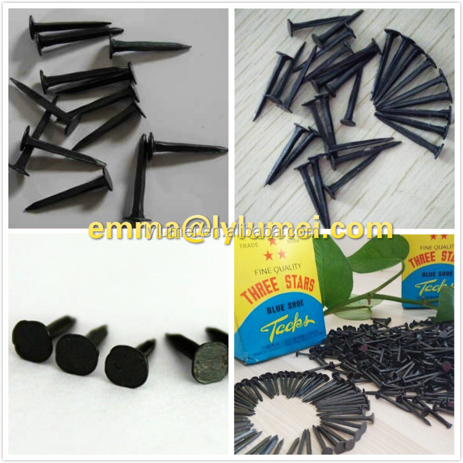 Alibaba Gold Supplier Shoe Tacks Nails Made Of Steel