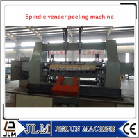 Spindle sliced log cutter machine/Shandong Jinlun sliced log peeler