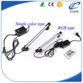 Wholesale 18mm glass tube light 30cm 40cm 60cm color changeable fish tank underwater light