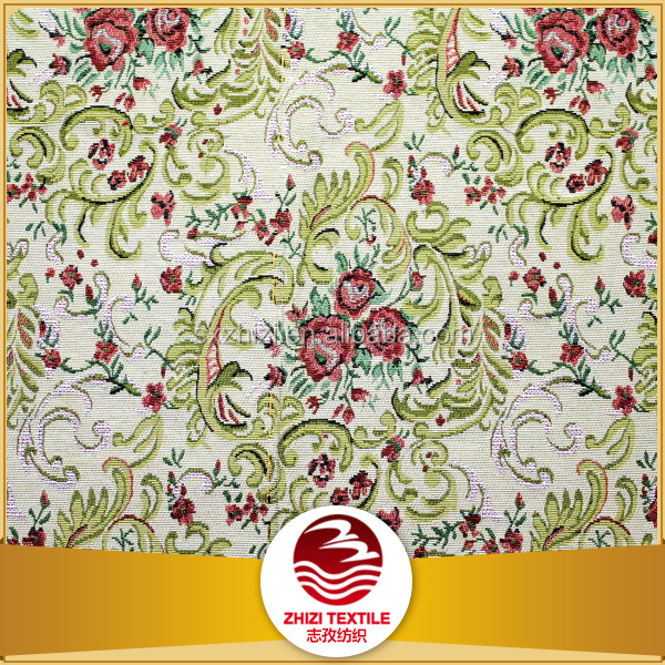 Shaoxing t/c woven tapestry European design textile
