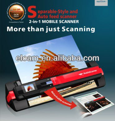 Portable Scanner,auto feed scanner HS300C,900dpi