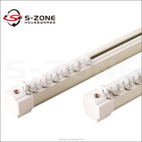 aluminum decorative railing sliding curtain rail track aluminium curtain rod rail