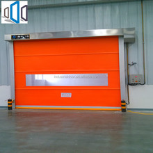 New Design transparent cold room automatic roller shutter door