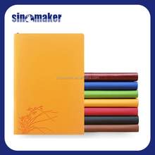 factory price promotion vintage leather 120sheets notebook