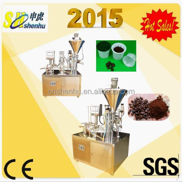 4 kw rotary k cups filling sealing machine/coffee filling machine