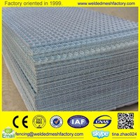2x2 galvanized Welded wire mesh fence panel