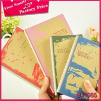 Cartoon design recycled paper notebook,Factory price all kinds of notebook,waterproof notebook for office and school