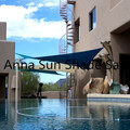 different colors 3x3x3 M/PCS Triangle Sun Shade Sail