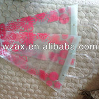 PP Plastic Flower Carry Bags With