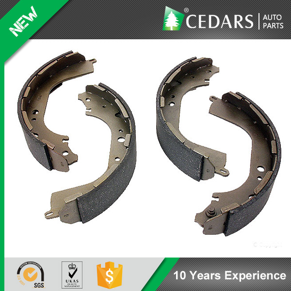 Reliable Wholesaler Low Dust Formula Car Brake Shoes