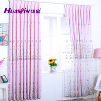 hot selling curtains wholwsale nets embroidery sheer window curtain fabric