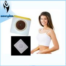 Chinese botanical magnetic belly slimming patch, abdomen weight loss patch