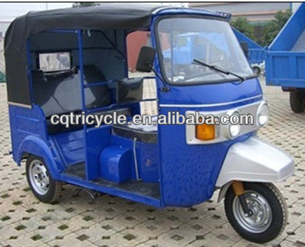 bajaj taxi three wheelers tricycle with rear engine