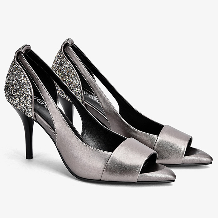 Women High heels Sandals Summer Wedding Bride shoes