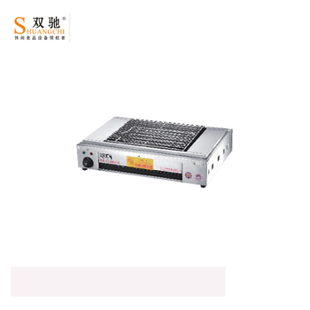 Electric BBQ Grill SC-JHD9-H With temperature control electric roaster meat bbq grill