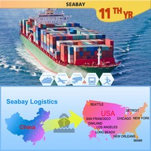 Alibaba Express Sea Freight Forwarder China To USA, Shipping Rate From Shanghai China To USA