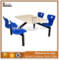 New Plastic Wood Garden Table And Chair / Outdoor Dining Set