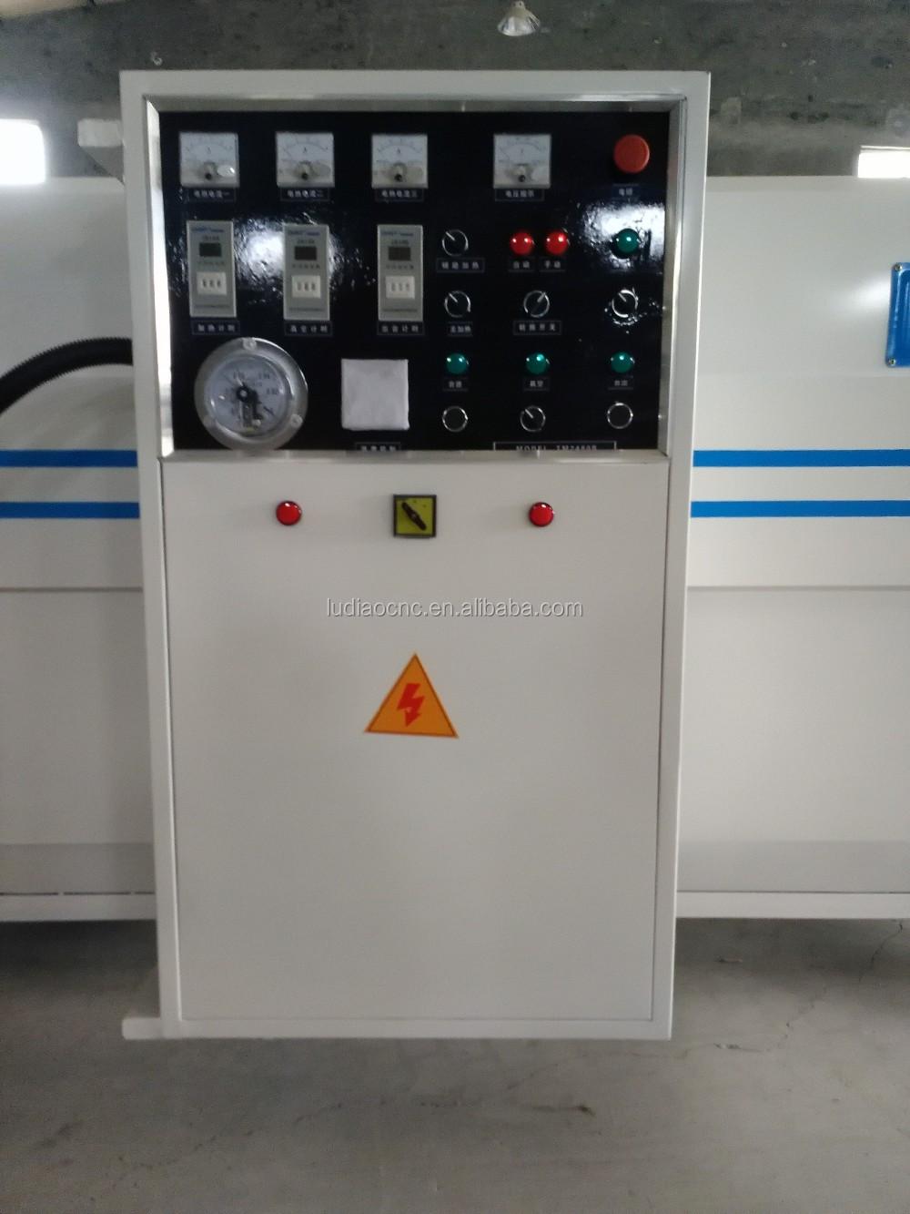 High Efficiency Best Price Vacuum Press Machine Vacuum Membrane Press  Machine Price TM2480B 1 For