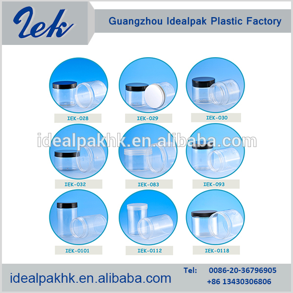 Factory direct sales all kinds of plastic jars flip top lids/plastic tube/PET bottles