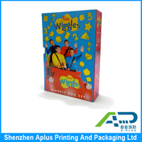 Hard cover book/cardboard book pinting factory/printing service