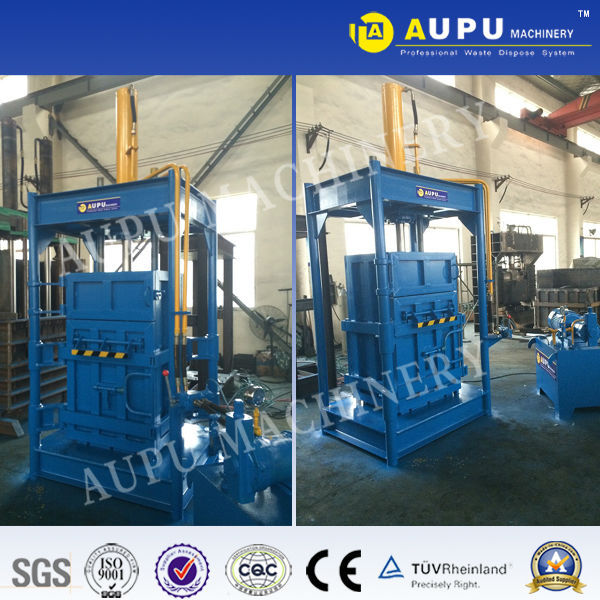 Good quality Y82 vertical hydraulic scrap silage baler machine