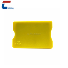 Anti-theft protection rigid plastic hard PVC business credit card holder