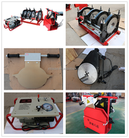 90-315mm hdpe butt fusion welding machine for competitive price water pipe