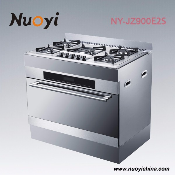 90cm camping gas stove with barery oven